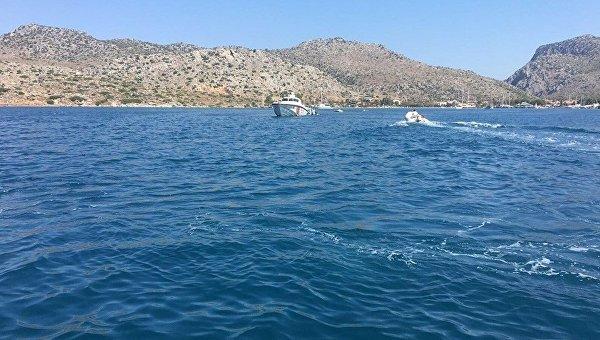 В турецком Мармарисе затонула яхта с туристами