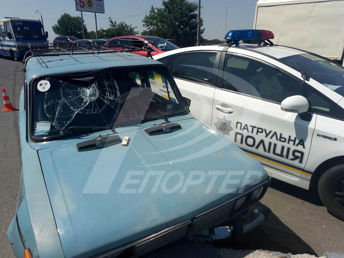 ВОдессе нетрезвый автомобилист устроил трагедию скопами
