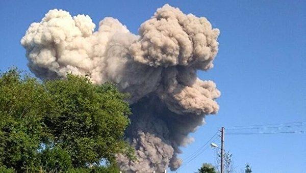Боеприпасы взорвались на складах минобороны Абхазии