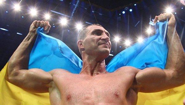 Абсолютный чемпион мира по боксу в супертяжелом весе Владимир Кличко