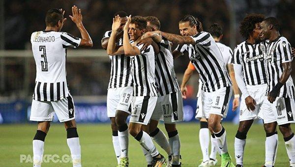 «Маритиму» иПАОК вышли вследующий раунд Лиги Европы