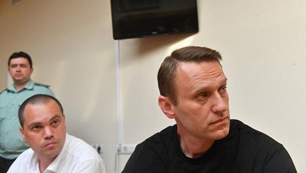 Заседание по делу А. Навального в Симоновском суде
