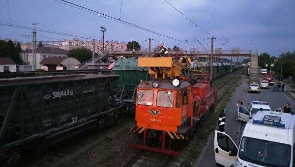 ВХмельницком молодого человека ударило током вовремя селфи накрыше поезда