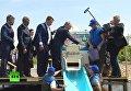 Путин выпустил в Байкал мальков омуля