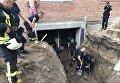 Стройка, на которой погиб рабочий в Киеве