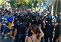 Ситуация под облпрокуратурой в Одессе