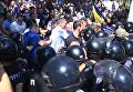 Драка под прокуратурой Одесской области