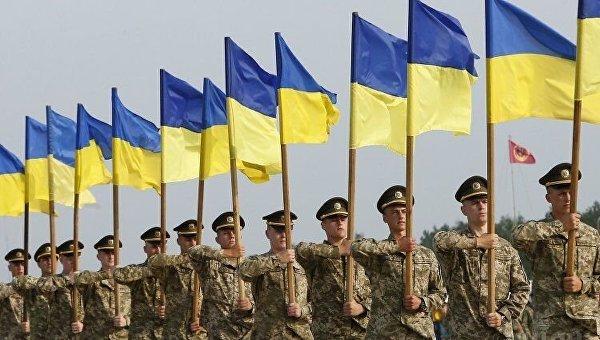 Репетиция парада ко Дню Независимости Украины