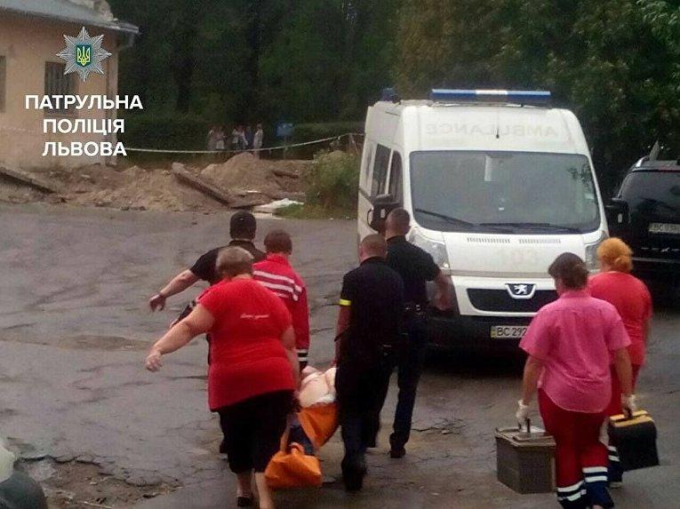 Захват заложников в психбольнице Львова