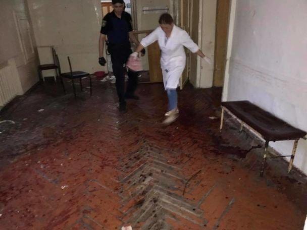 Захват заложников в психбольнице во Львове