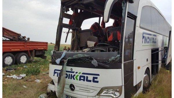 ДТП с автобусом в Турции