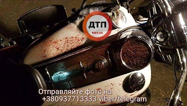 В ДТП в Киеве погиб мотоциклист