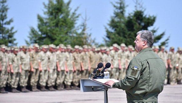 Петр Порошенко в Винницкой области