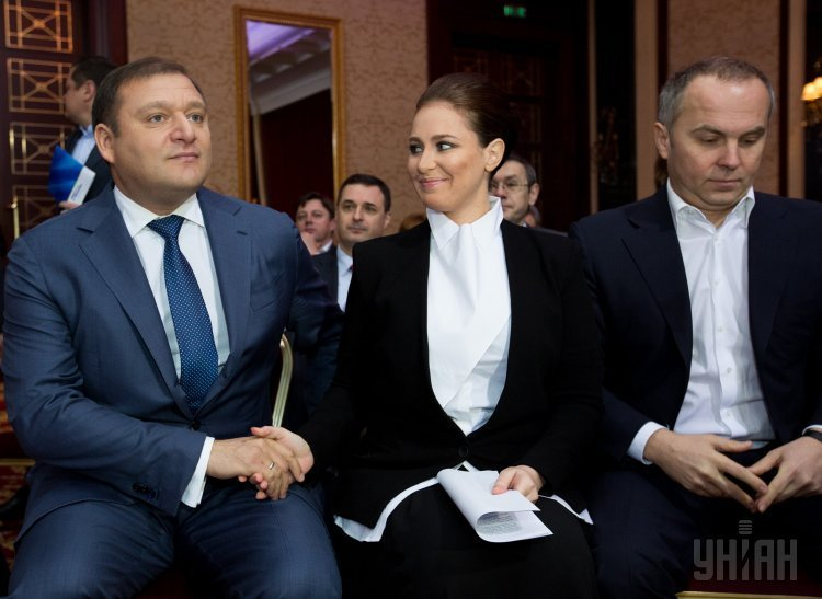 Михаил Добкин, Ирина Бережная и Нестор Шуфрич