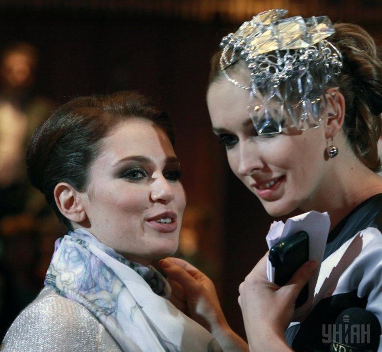 Ирина Бережная и Катя Осадчая
