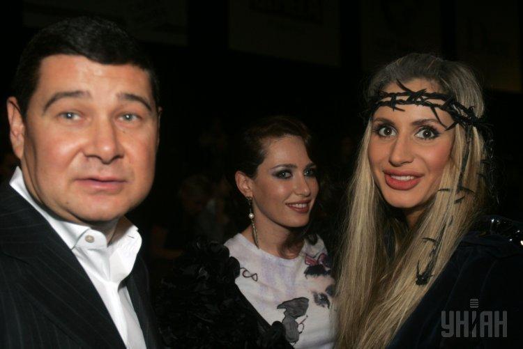 Александр Онищенко, Ирина Бережная и Светлана Лобода