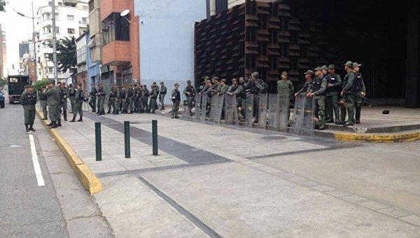 Военные заблокировали здание генпрокуратуры Венесуэлы