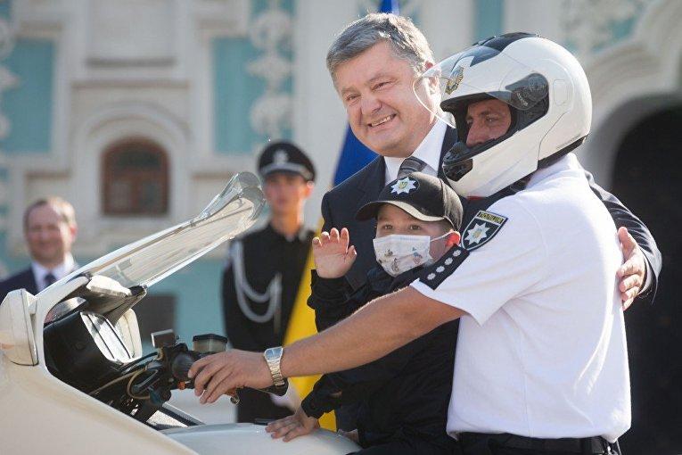 Петр Порошенко с Глебом Хуртепой