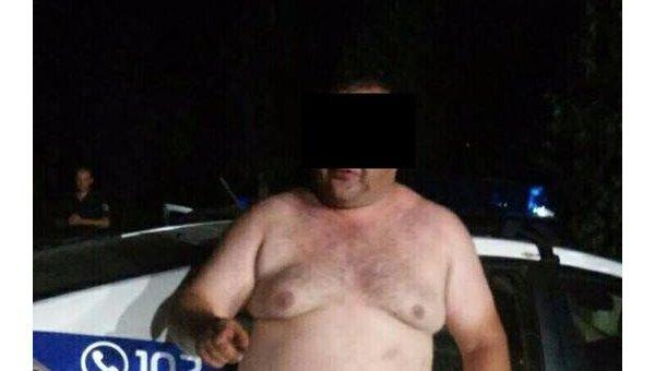 Сотрудник полиции в Кривом Роге устроил драку