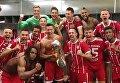 Футболисты Баварии празднуют победу в матче за Суперкубок