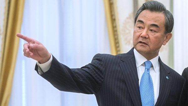 Министр иностранных дел Китайской Народной Республики Ван И. Архивное фото