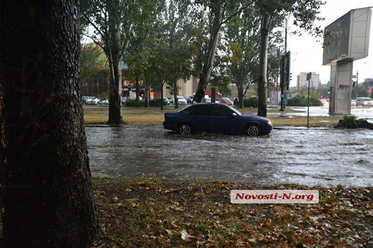 Непогода в Николаеве