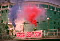 Акция участниц Pussy Riot в поддержку Сенцова в РФ