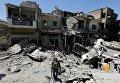 Иракский патруль в освобожденном от боевиков Мосуле