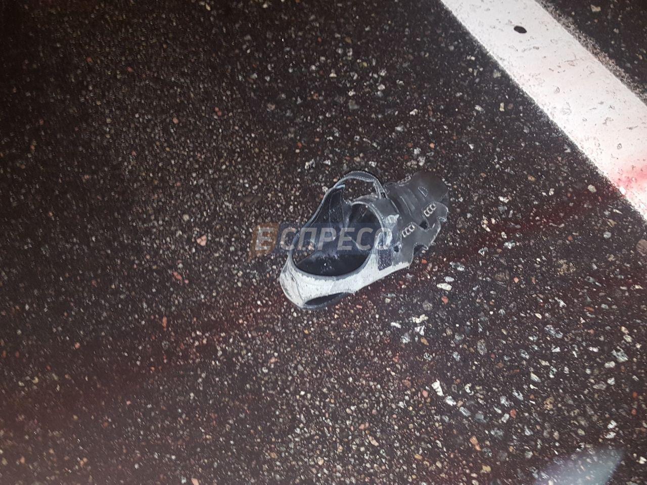 ВКиеве шофёр иномарки сбил водителя троллейбуса