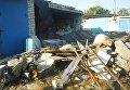 Взрыв в гараже в Северодонецке