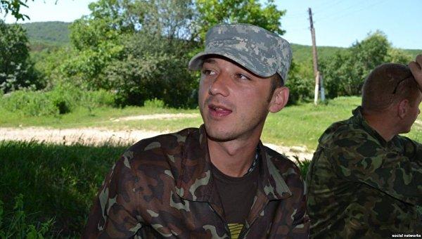Задержанный российский военнослужащий Максим Одинцов. Архивное фото