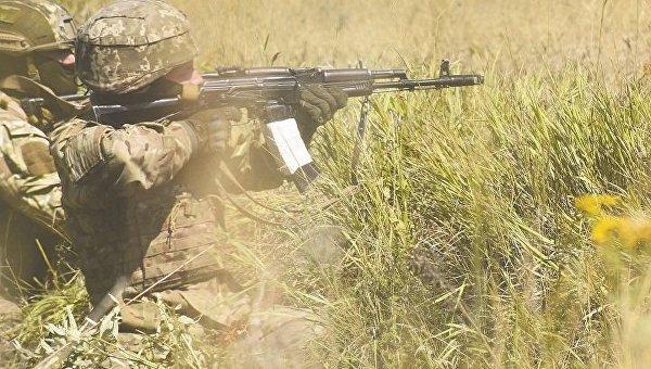 Военные в Донбассе