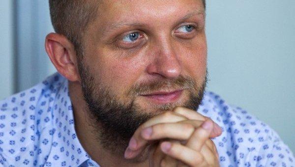 Депутат Верховной Рады Максим Поляков. Архивное фото