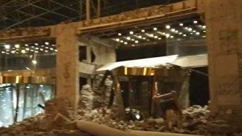 Паника и разрушения: жуткие кадры землетрясения в Китае. Видео
