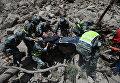 Разрушительное землетрясение в Китае