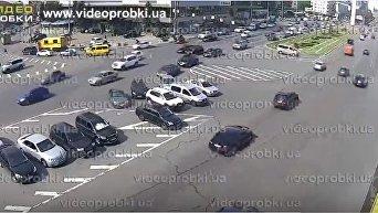 Массовое ДТП в Киеве