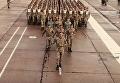 Репетиция военного парада ко Дню Независимости с высоты птичьего полета. Видео
