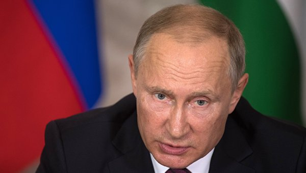 Рабочая поездка президента РФ В. Путина в Абхазию