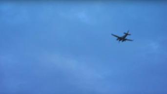 Российский самолет пролетел над Белым домом: опубликовано видео