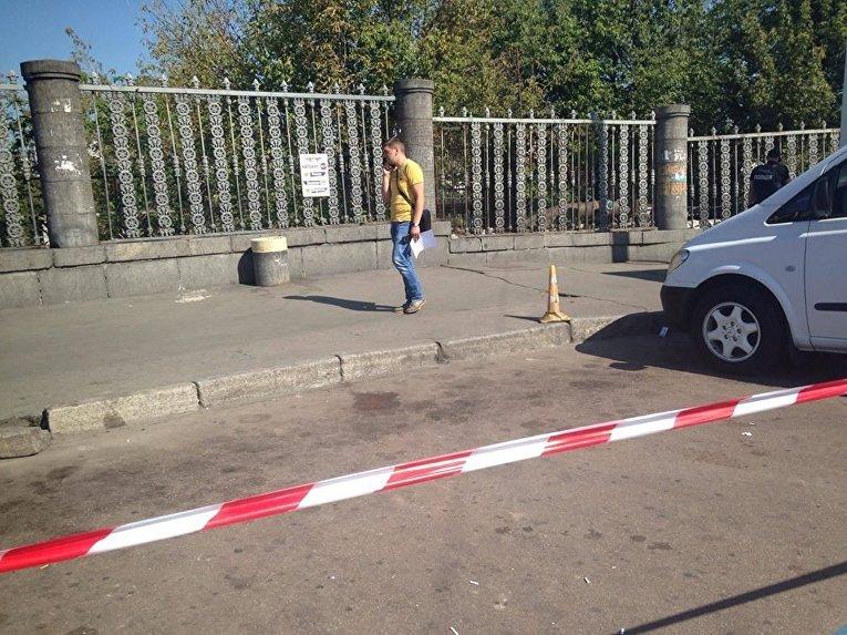 Стрельба на центральном железнодорожном вокзале в Киеве
