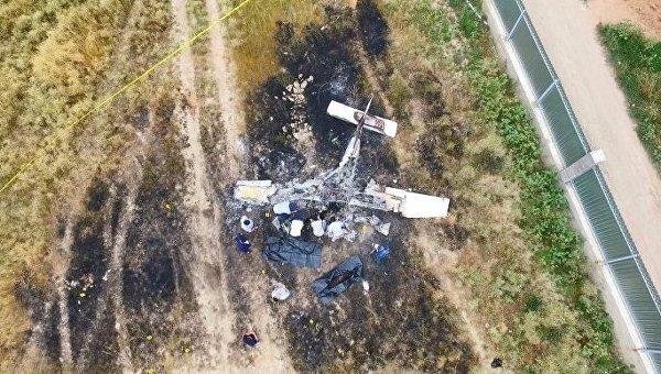 Украинец разбился во время учебного полета около Алма-Аты