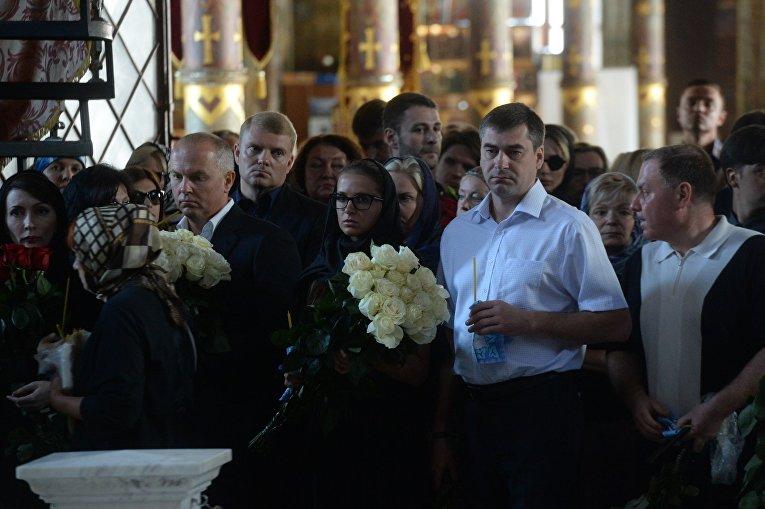 Прощание с трагически погибшей Ириной Бережной