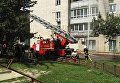 Пожар в Киеве 11 августа