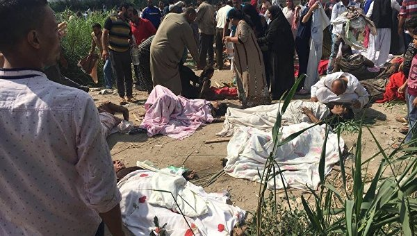 В Египте столкнулись поезда