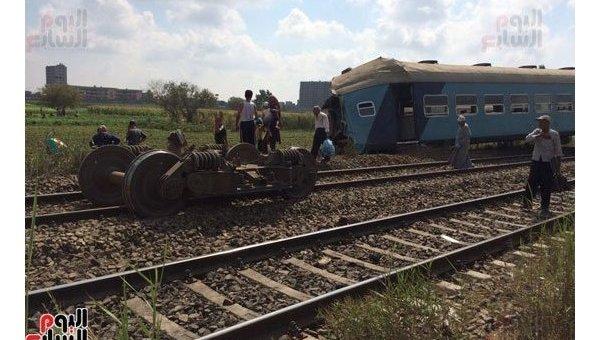 В Египте столкнулись поезда, 11 августа 2017