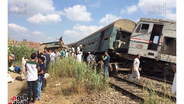 Жители России вжелезнодорожной катастрофе вЕгипте непострадали