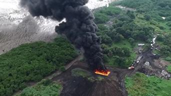 В Панаме сожгли почти 10 тонн наркотиков