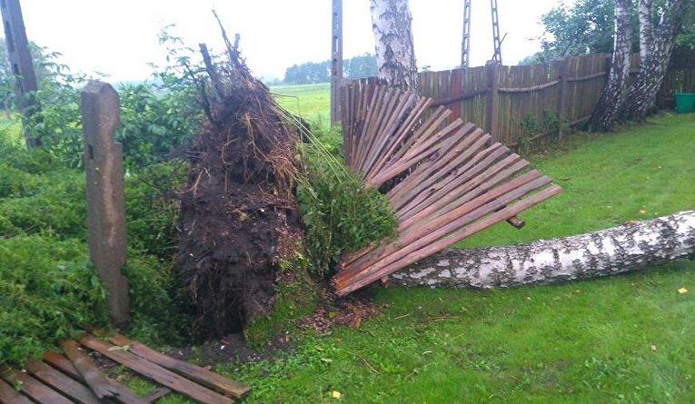 Смертельный ураган в Польше