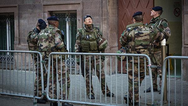 Операция военных Sentinelle во Франции. Архивное фото