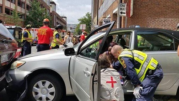 Столкновения в Виргинии